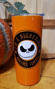 Nightmare Before Coffee 15 oz RTS Cup - Elysian Market Fall Festival