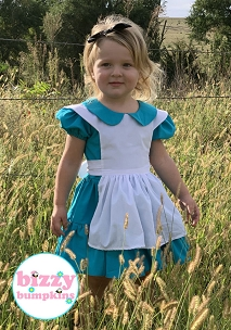 1 2T and 1 3T Alice in Wonderland Dresses for Joy - Elysian Fairytale Showcase Special