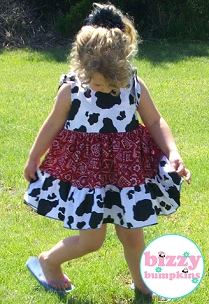 Cowgirl Twirly Sundress for Gaye Howell - OPH Auction