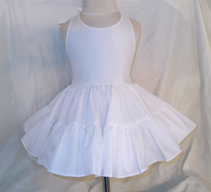 Bizzy Bumpkins Solid White or Colors Twirly Halter Dress Sundress with full ruffled skirt Infant Baby Toddler Girl Square Dance Twirly